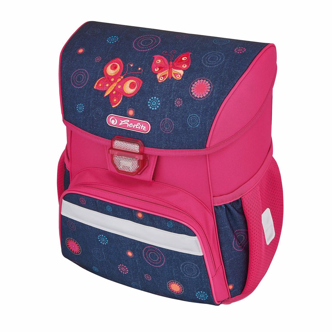 7586d28be7204 Plecak szkolny tornister Loop Butterfly HERLITZ Butterfly Dreams ...