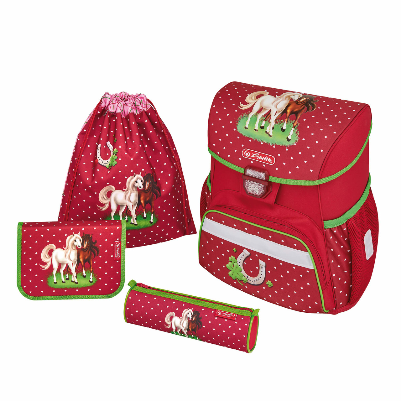 982c8c2b98fcf ... Zestaw tornister plecak Loop Plus Horses HERLITZ Kliknij, aby  powiększyć ...